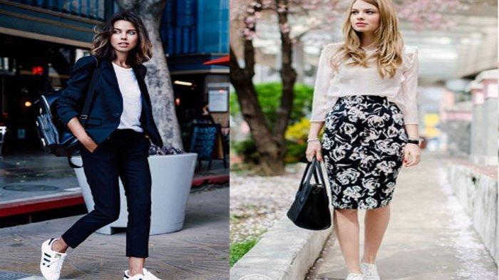 3 Gaya Stylish Pakai Sneakers Putih, Solusi untuk Anda Yang Bingung Memadupadankannya!