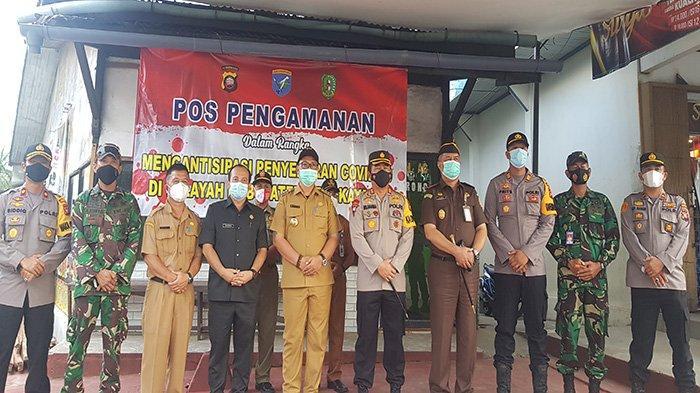 Pemkab Hadirkan Posko Pengamanan Cegah COVID di Wilayah Kabupaten Bengkayang