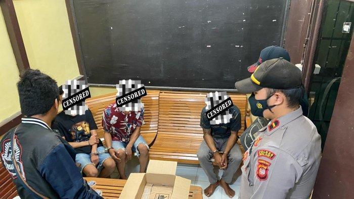 Polsek Kota Baru Ungkap Pelaku Penyalahgunaan Narkotika Jenis Sabu, Tangkap Tiga Orang Tersangka