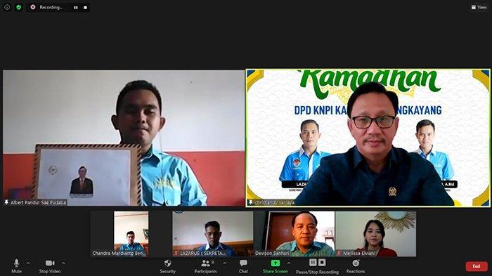 Senator Kalbar Realisasikan Aspirasi KNPI Bengkayang Untuk Gelar Baksos di Bulan Ramadan