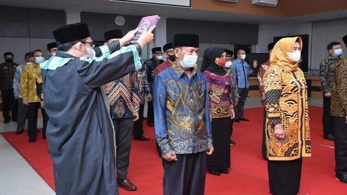 Anggota Direksi, Komisaris BUMD dan TP3D Ketapang Dilantik