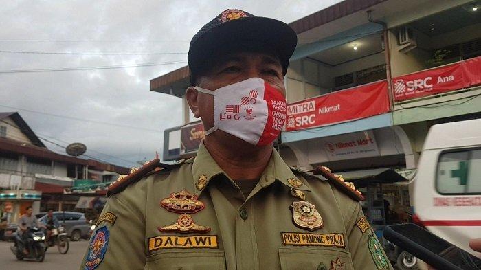 Satpol PP Kabupaten Bengkayang Ingatkan Pemilik Usaha Ikuti Aturan PPKM Skala Mikro