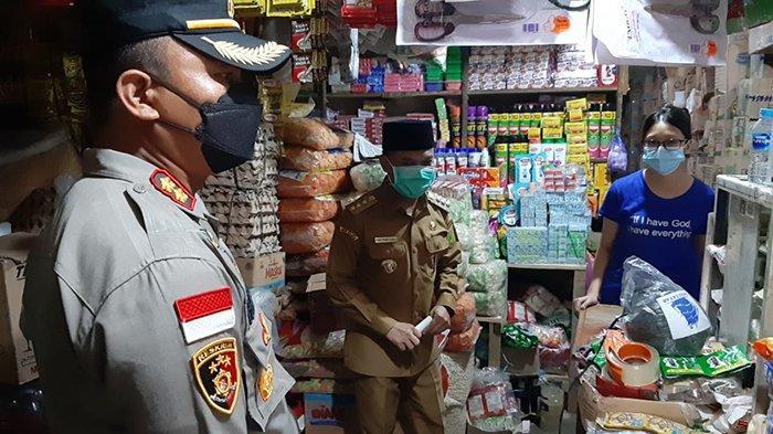 Antisipasi Kluster Pasar Jelang Idul Fitri, Bupati dan Forkopimda Sidak Pasar