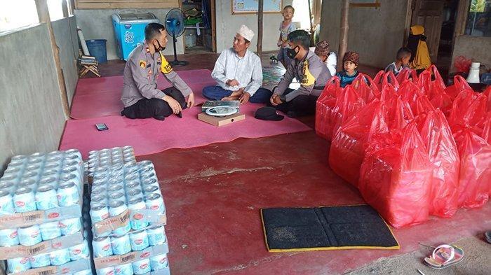 Jelang Idul Fitri, Kapolsek Siantan Bersilahturahmi ke Tiga Pondok Pesantren di Jongkat