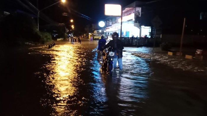 Camat Bengkayang: Intensitas Hujan Tinggi, Akibatkan Banjir