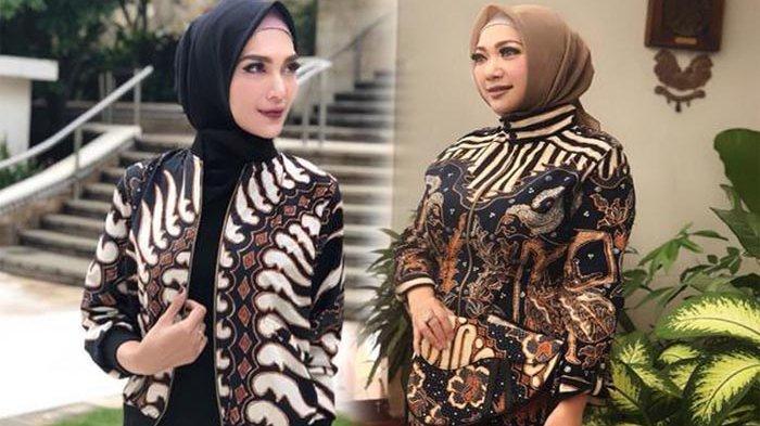 6 Model Baju Batik Kerja Kantor Modis Kekinian - Tribun ...