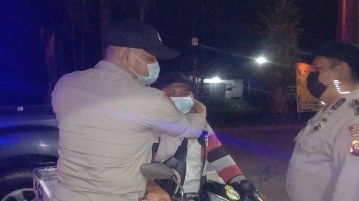 Polsek Siantan Tak Henti Imbau Warga Taati Prokes
