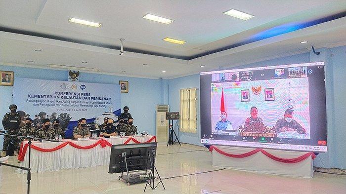 KKP Amankan 19 Kapal Ilegal fishing, Menteri KKP Trenggono Siapkan Armada Tambahan