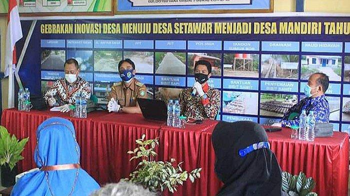 Desa Setawar Wakili Kabupaten Sekadau Lomba Desa Tingkat Provinsi Kalbar