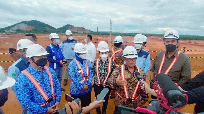 Komisi VII DPR RI Kunjungi Mempawah dan Tinjau Progres Smelter PT BAI