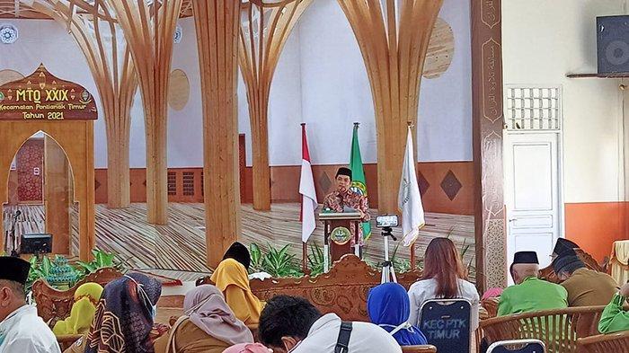 Buka Secara Resmi MTQ ke-29 Pontianak Timur, Bahasan : Syiarkan Al Quran Kepada Masyarakat