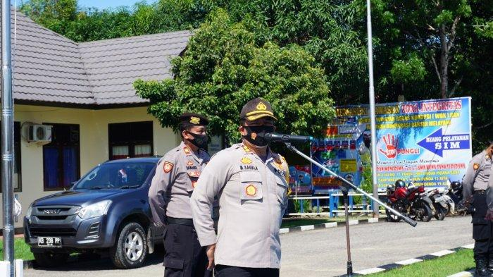 64 Warga Sekadau Terjaring Operasi Yustisi Akibat Tak Pakai Masker