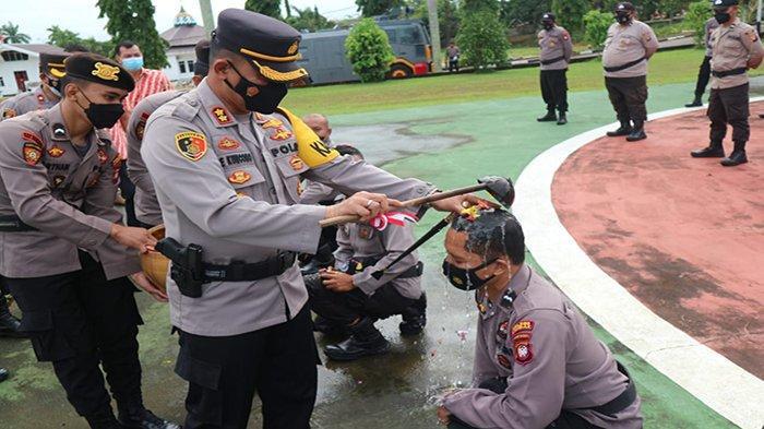 40 Personel Polres Landak Naik Pangkat, Ini Pesan Kapolres