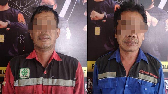 Ketahuan Mencuri Besi di PT Wika, Dua Pekerja Diringkus Polres Mempawah