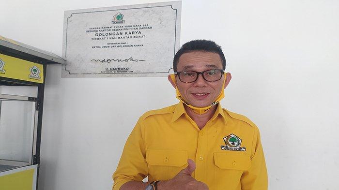 Terpilih Jadi Ketua DPD Golkar Melawi, Mashur Akan Laksanakan Program Semesta