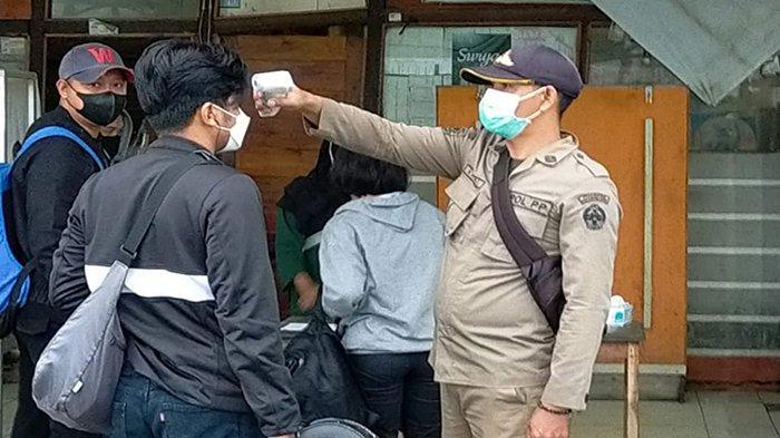 Camat Teluk Batang Imbau Para Pelintas Disiplin Terapkan Protokol Kesehatan