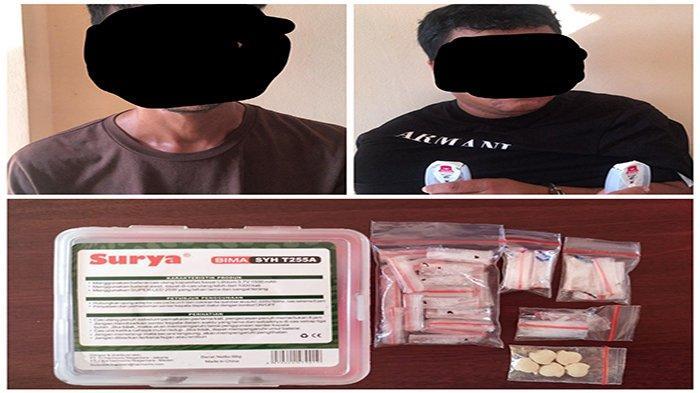 Penjual Sabu-Sabu dan Ekstasi Ditangkap Polres Landak