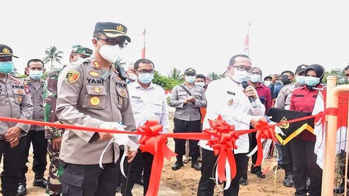 Wabup Sujiwo Launching Rasau Jaya Bersih Narkoba