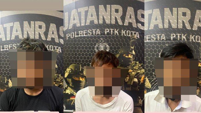 Bobol Rumah Warga, 3 Sekawan Residivis di Pontianak Kembali Dibekuk Jatanras