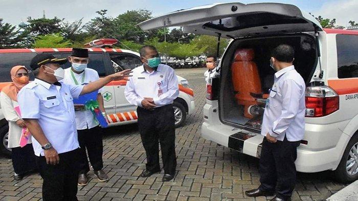 Beri Bantuan Ambulance, Bupati Muda Harap Pelayanan Semakin Maksimal
