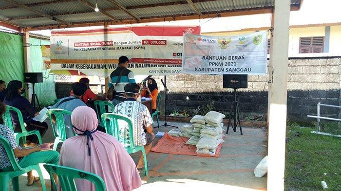 Puluhan Ribu KPM di Kabupaten Sanggau Terima Bantuan Sosial Tahun 2021
