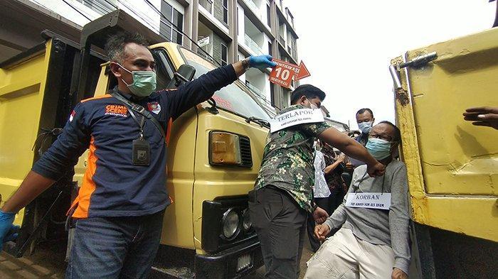 Polresta Pontianak Gelar 2 Versi Rekonstruksi Dugaan Penganiayaan Di Jalan Sultan Muhammad Pontianak