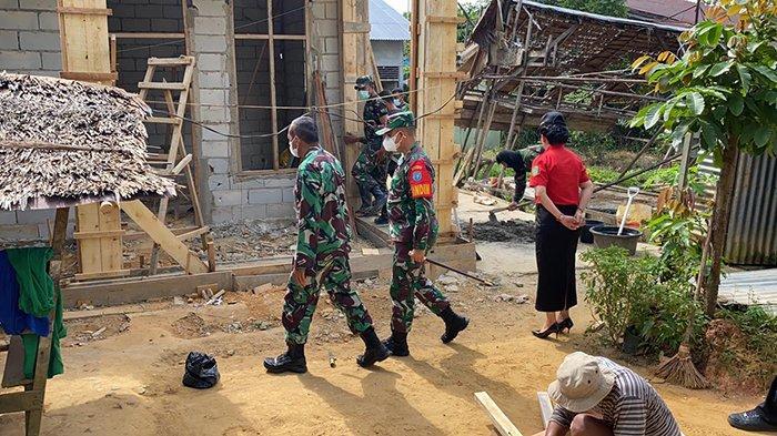 Tinjau Langsung Program RTLH di Singkawang, Ketua Tim Penilai Pusterad Beri Apresiasi