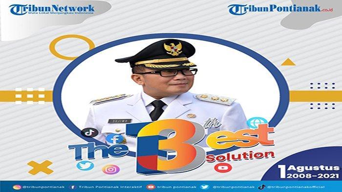 HUT ke-13, Wabup Sujiwo Puji Platform Digital Tribun Pontianak