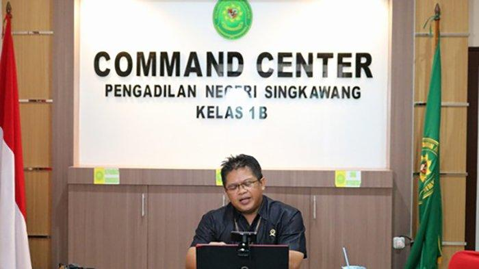 Pengadilan Negeri Singkawang Bagikan Pengalaman Zona Integritas Dengan Peradilan se-Indonesia