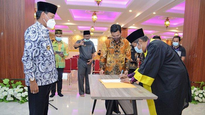 Farhan Hadiri Pelantikan Dewan Hakim dan Panitera MTQ XXIX Tingkat Kabupaten Ketapang