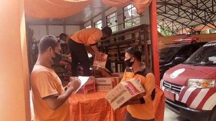 BPBD Ketapang Mulai Salurkan Bantuan untuk Desa yang Terendam Banjir