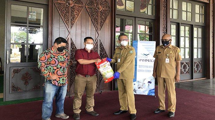 Bantuan 1000 Liter Minyak Goreng dan 2000 Kg Beras, Gubernur Sutarmidji Akan Distribusikan ke Daerah