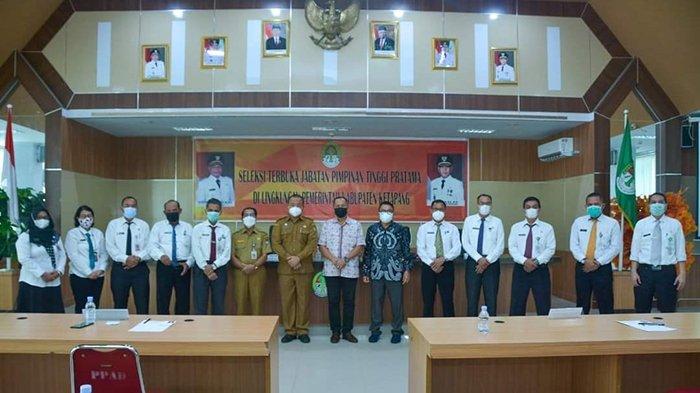 Hasil Uji Kompetensi Teknis Seleksi Terbuka JPTP Eselon II b Kabupaten Ketapang