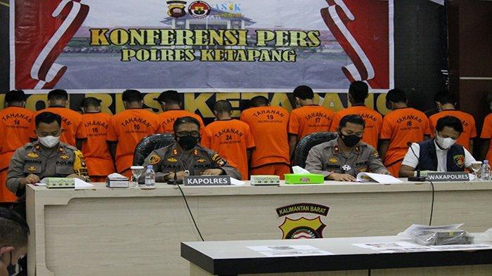 Ungkap Kasus Ilegal logging, Polsek Sandai Amankan Tiga Terduga Pelaku dan Ratusan Batang Kayu Ulin