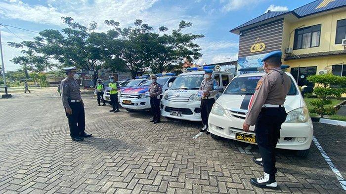 Polres Singkawang Sediakan Mobil Masker, Siap Berikan Masker Kepada Masyarakat