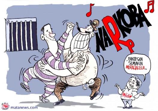 Sanksi Pecat Polisi Nyabu Tribun Pontianak