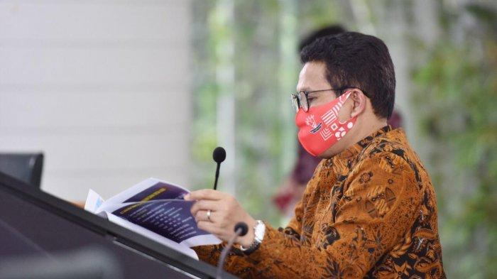 Galakkan Program 500 Juta Masker, Abdul Halim: Target Kita Setiap Warga Punya Masker