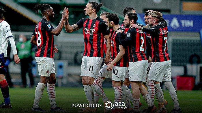 AC Milan Masih Kedinginan di Puncak, Rekor Zlatan Ibrahimovic dan Kembalinya Hakan Calhanoglu