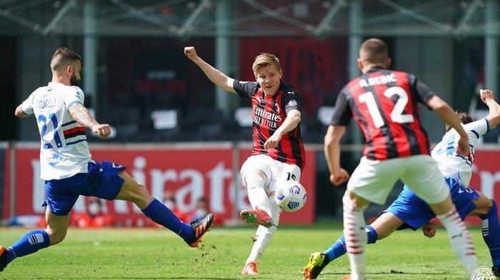 SEDANG LIVE, Streaming AC Milan vs Genoa - Cek Line-up & Update Skor Hasil Sementara Milan vs Genoa