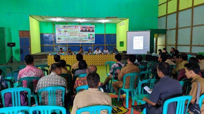 Tim Pelaksana Inovasi Desa Laksanakan Acara Bursa Pertukaran Inovasi Desa