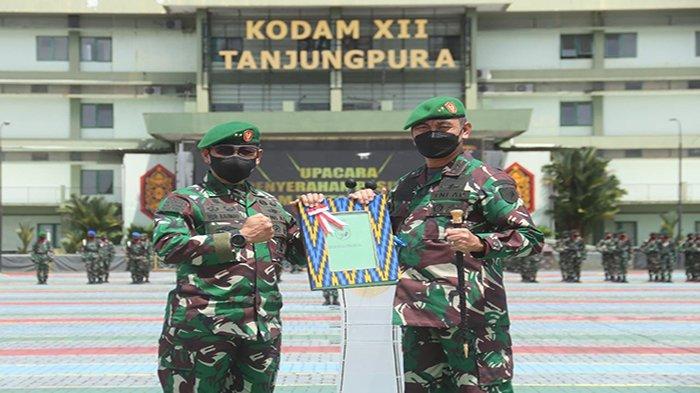 Mayjen TNI Sulaiman Agusto Terima Pasukan Koopsdam XII TPR
