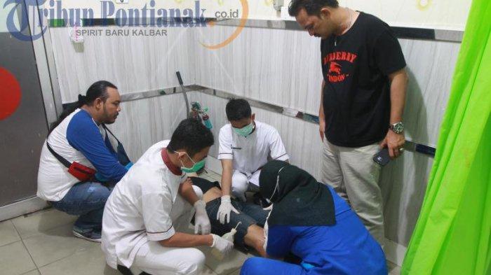 BREAKING NEWS FOTO: Ditembak dengan Timah Panas, AD Dirawat di RS Anton Soedjarwo - ad-satu-tersangka-pelaku_20170502_210256.jpg
