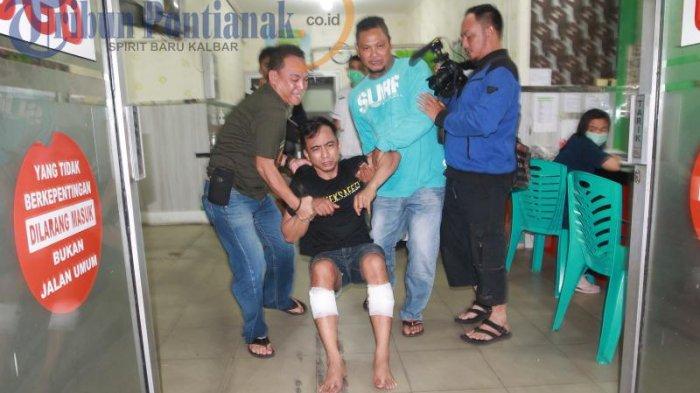 BREAKING NEWS FOTO: Ditembak dengan Timah Panas, AD Dirawat di RS Anton Soedjarwo - ad-satu-tersangka-pelaku_20170502_210424.jpg