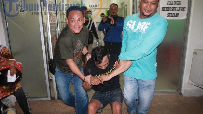 BREAKING NEWS FOTO: Ditembak dengan Timah Panas, AD Dirawat di RS Anton Soedjarwo - ad-satu-tersangka-pelaku_20170502_210734.jpg