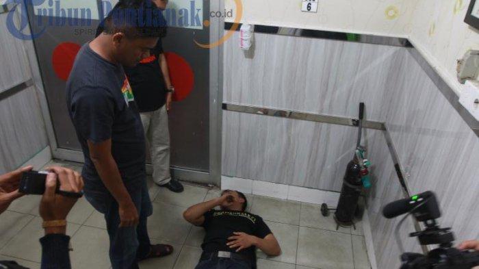 BREAKING NEWS FOTO: Ditembak dengan Timah Panas, AD Dirawat di RS Anton Soedjarwo - ad-satu-tersangka_20170502_210627.jpg