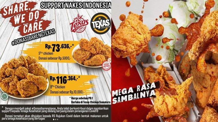 PROMO Makanan 14 Juli 2021, Nikmati McD KFC Chatime Texas Chicken BreadTalk Dunkin Donuts hingga A&W