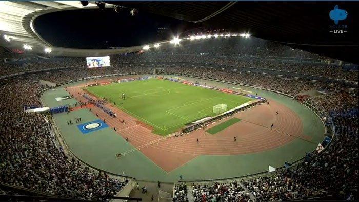 Sedang Live Babak II Juventus Vs Inter Milan ICC,  Juve Tertinggal Gol Bunuh Diri Matthijs de Ligt