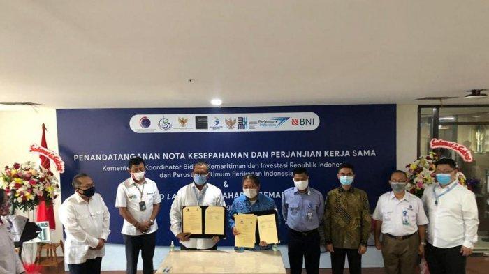 Putra Kalbar, Aditya Pradewo Launching Gemarikan.id, Ciptakan UMKM Pada Produk Kelautan Perikanan