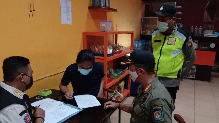 Gabungan Satgas Covid-19 Polres Kubu Raya, Dishub & Satpol PP Beri Imbauan dan Sanksi Administrasi