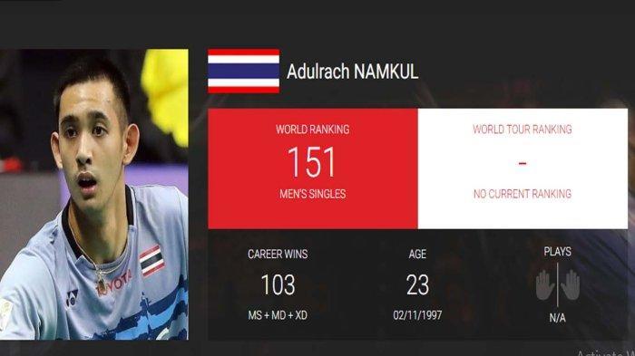 Kekalahan Adulrach Namkul Jadi Kemenangan Indonesia atas Thailand, Shesar Hiren Jadi Pahlawan